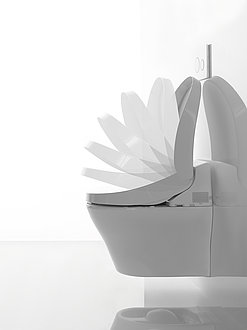 automatic open WASHLET