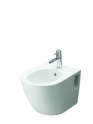 Rimless WC NC with closed lid against a white background