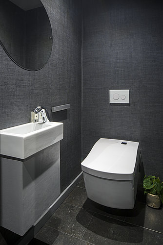 Toilet room with WASHLET™ at The Wedding Gallery in London