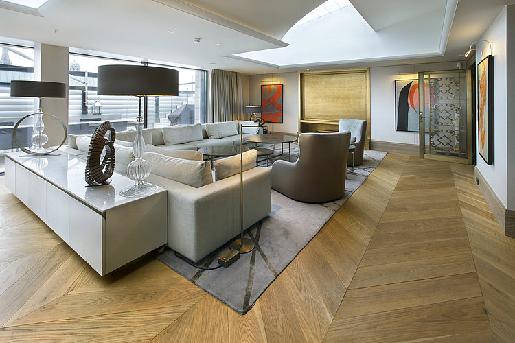 Die Royal Penthouse Suite im Park Hyatt in Wien