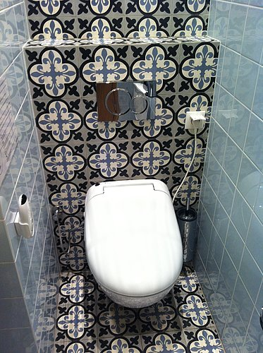 TOTO WASHLET™ in a sumptuous bathroom