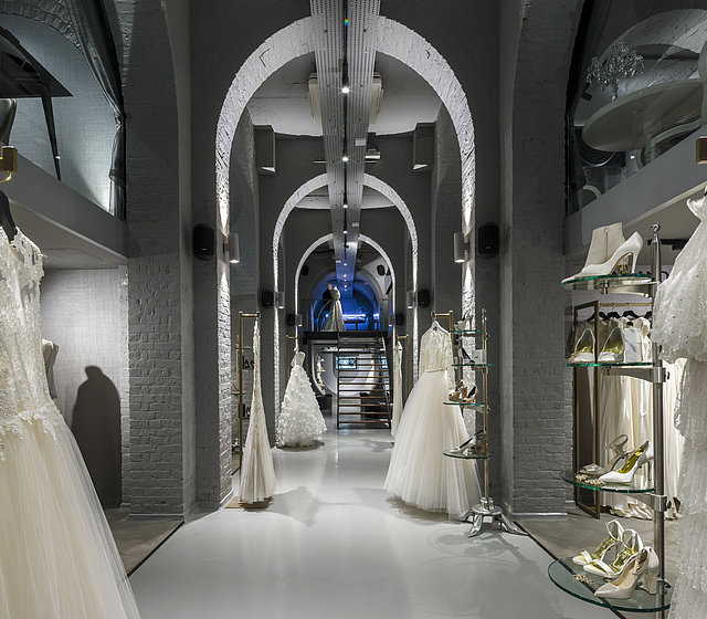 [Translate to Französisch:] View of The Wedding Gallery in London