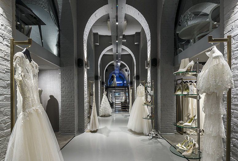 [Translate to Deutsch:] View of The Wedding Gallery in London