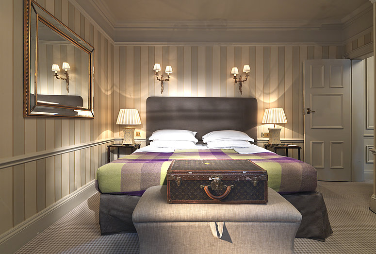 Suite luxueuse à l'hôtel Stafford à Londres