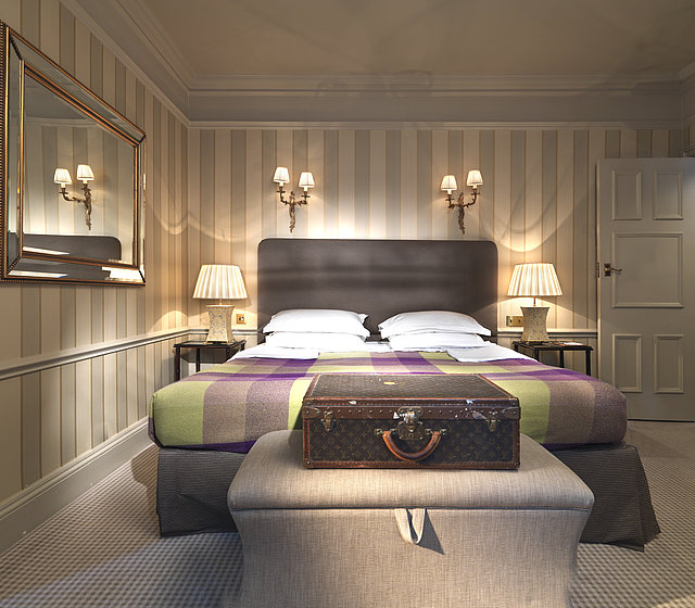 Luxury suite at Stafford Hotel in London