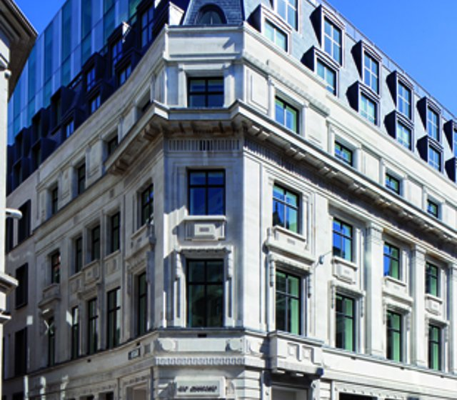 The Banking Hall office building in London